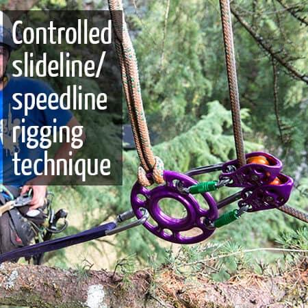 Controlled Slide line Rigging System