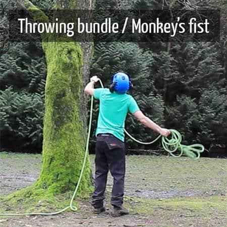 Throwing bundle