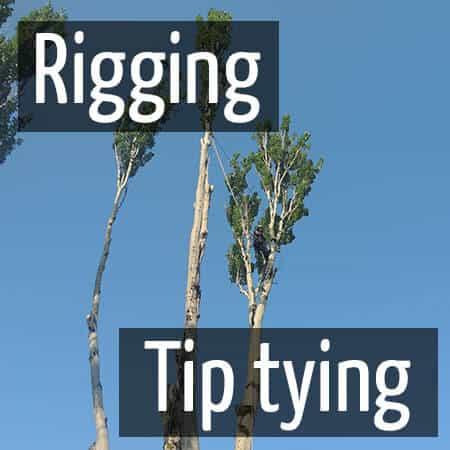 Rigging: Tip tying