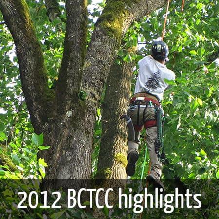 2012 British columbia Tree climbing championships
