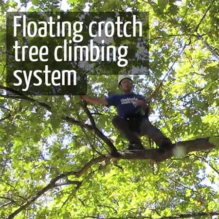 Floating crotch system