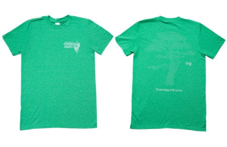 Softstlye Green T-shirt with subtle white print