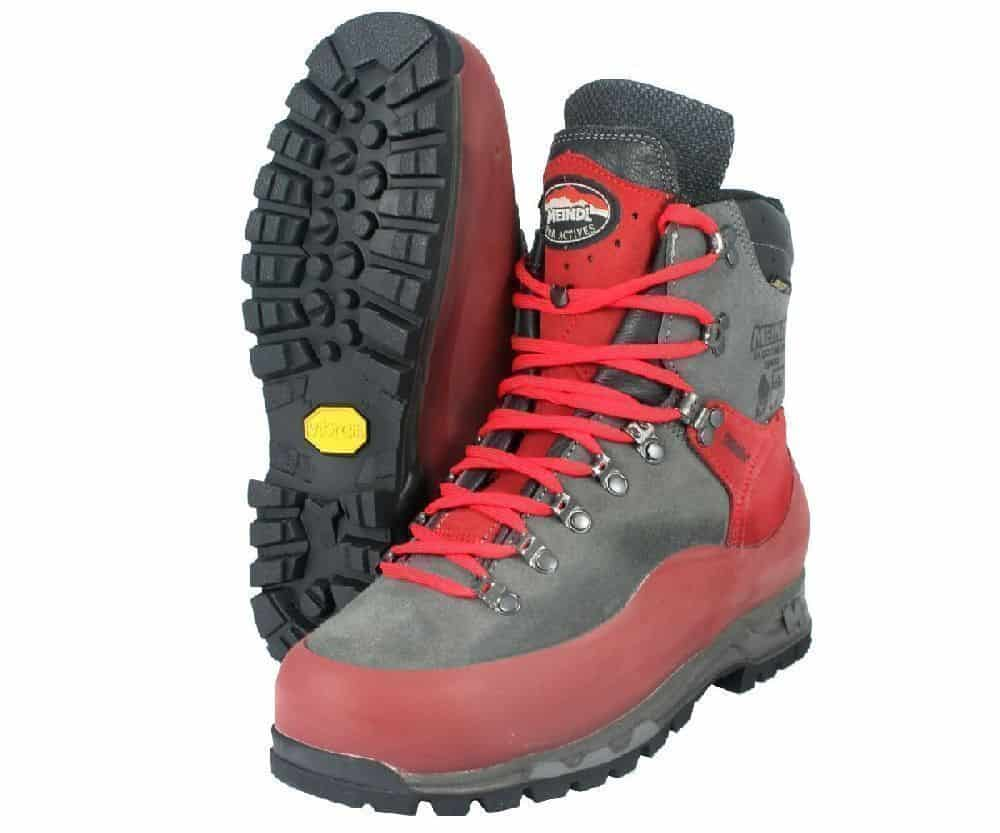 Meindl Airstream chainsaw boots : ClimbingArborist.com
