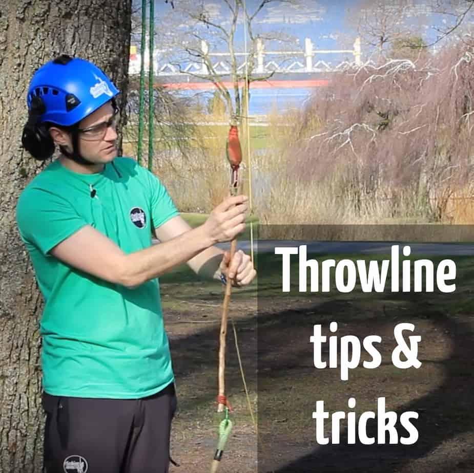 Throwline tips & tricks ClimbingArborist.com