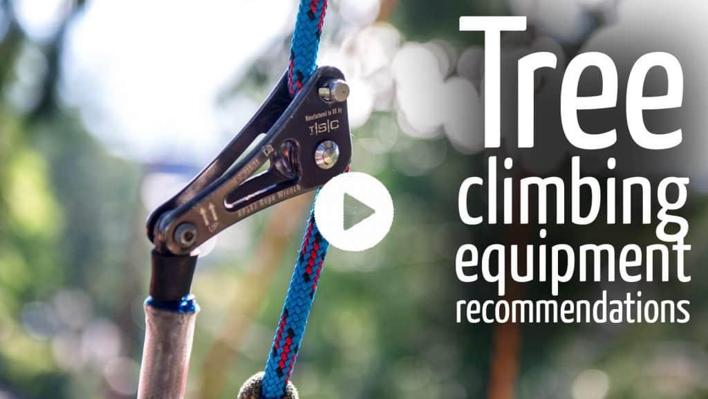 Tree climbing equipment recommendations by ClimbingArborist.com