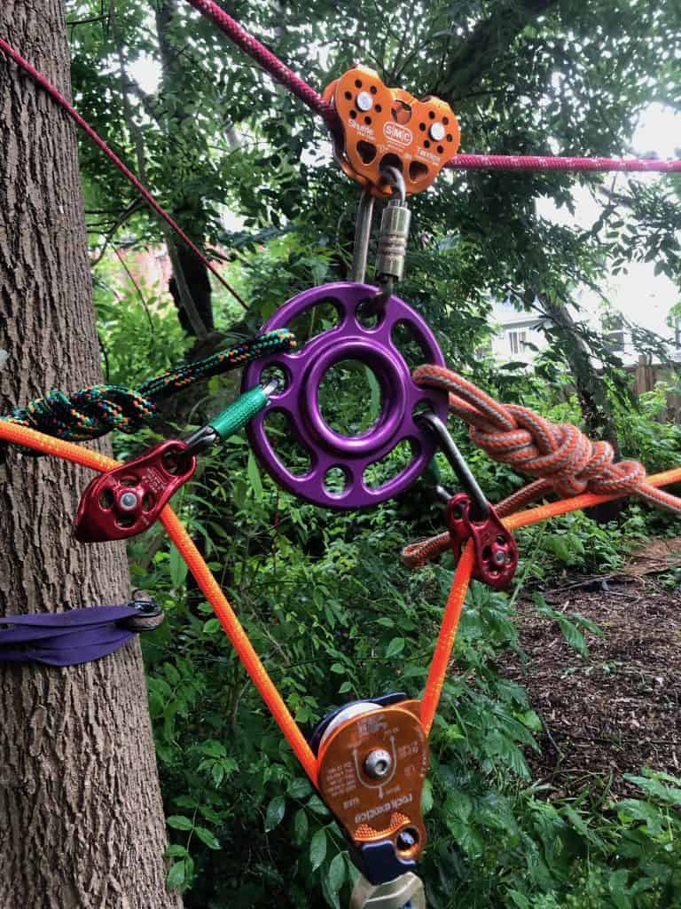 Reeve system - Skills improve my efficiency; efficiency improve my skills! - Climbingarborist.com