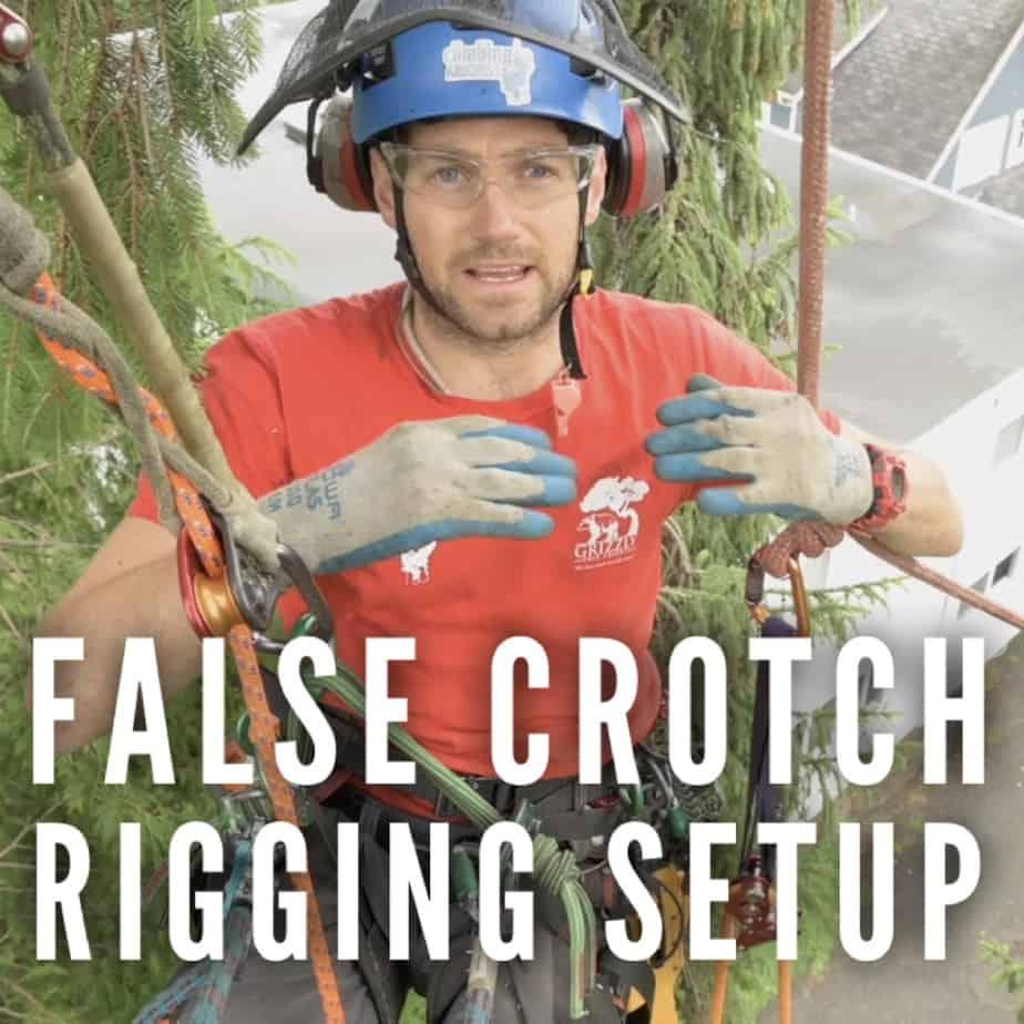 False crotch rigging | ClimbingArborist.com