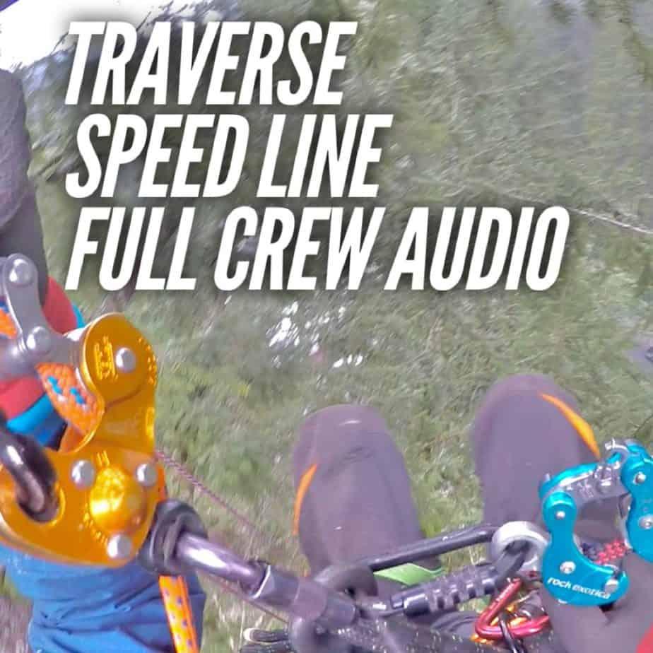 tree traverse and speedline ClimbingArborist.com