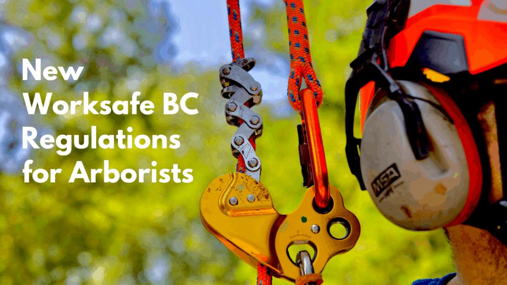 New WBC arborist regulations - ClimbingArborist.com